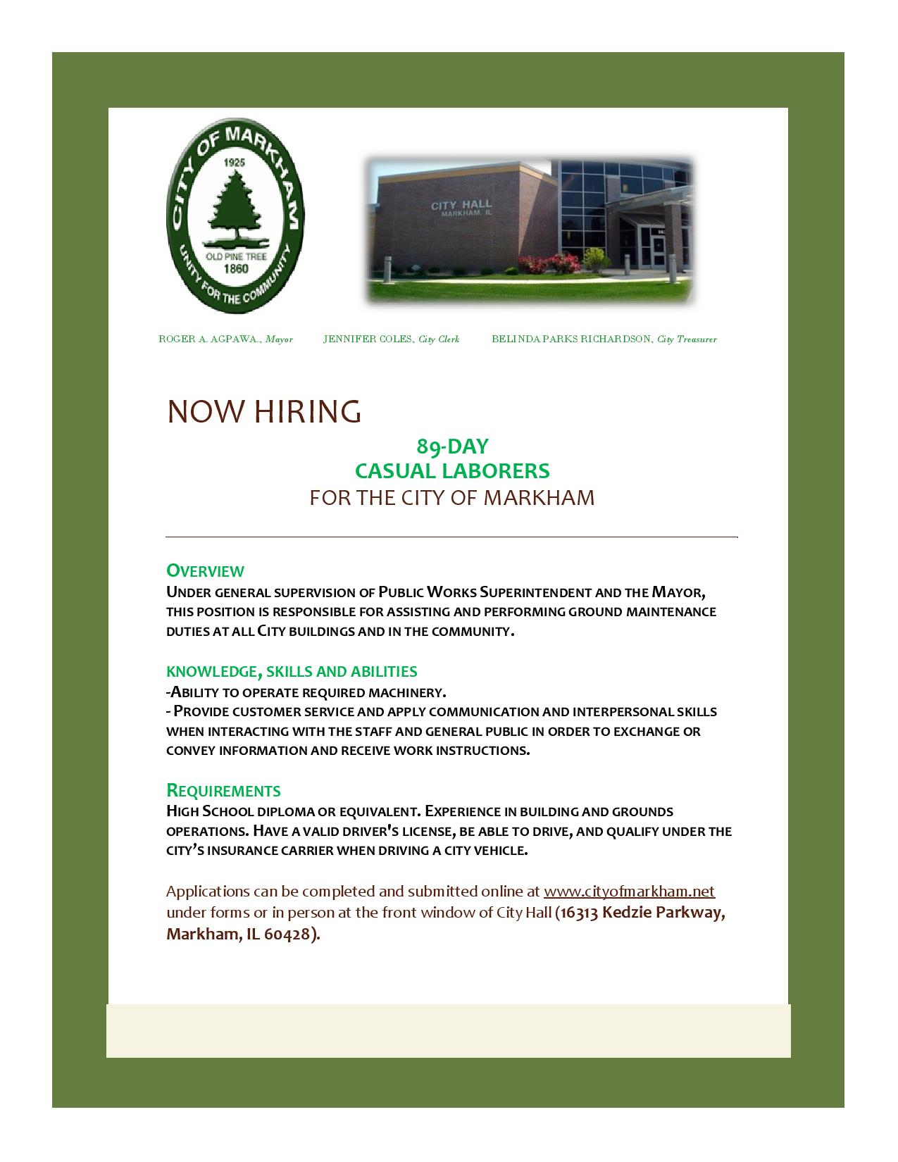 89 Day Hiring Flyer-
